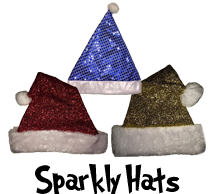 Sparkly Hats