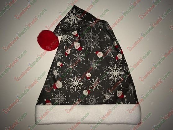 5bfa8e0637bb5 Choose Your Colors Fleece Santa Hat - All Santa Hats - Custom Santa ...