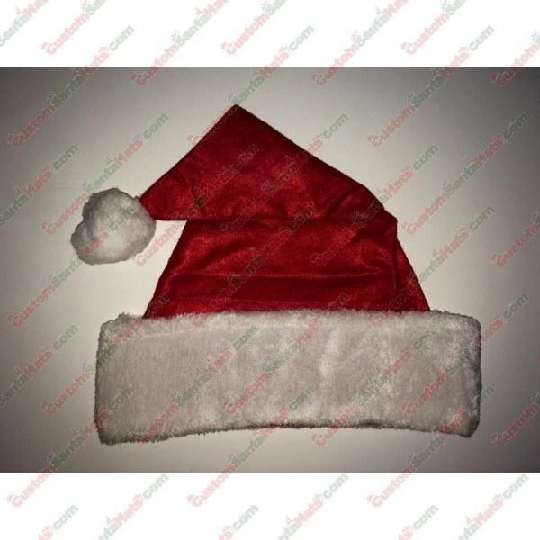 Felt Santa Hat Large Plush Brim
