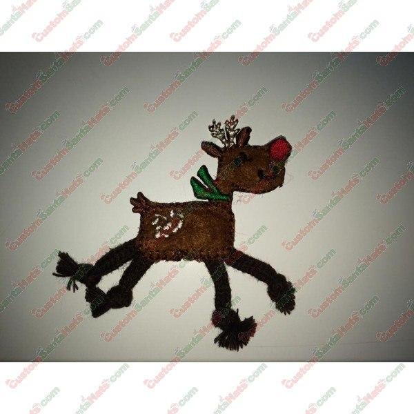 Rope Reindeer Decoration