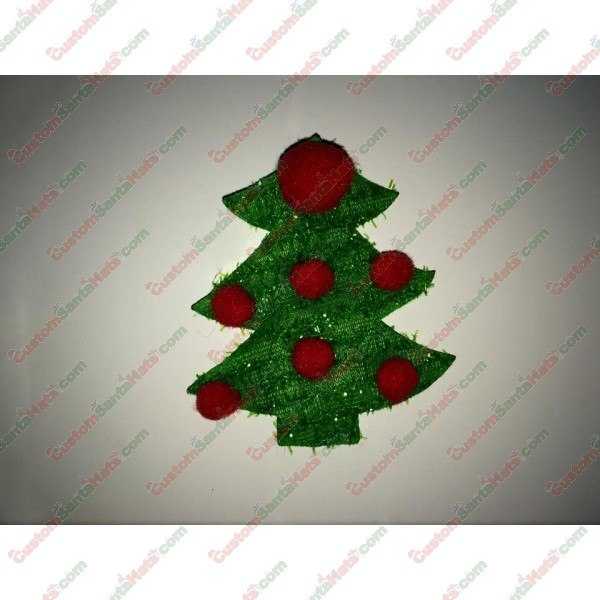 Christmas Tree Red Balls Decoration