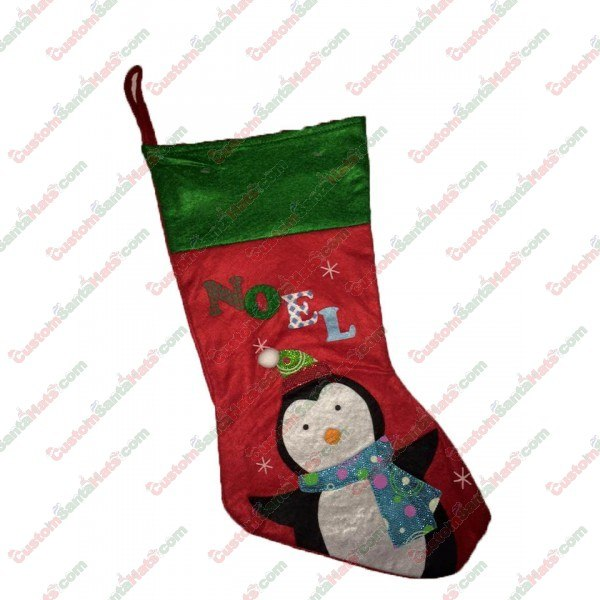 Felt Noel Penguin Stocking