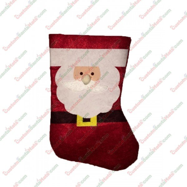Mini Santa Stocking