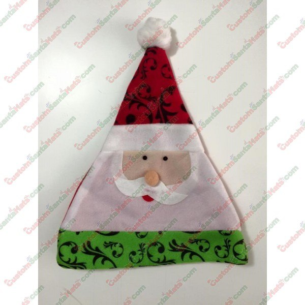Santa 3-Tier Santa Hat