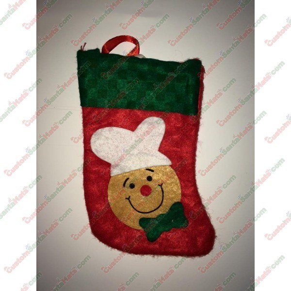 Mini Gingerbread Man Stocking