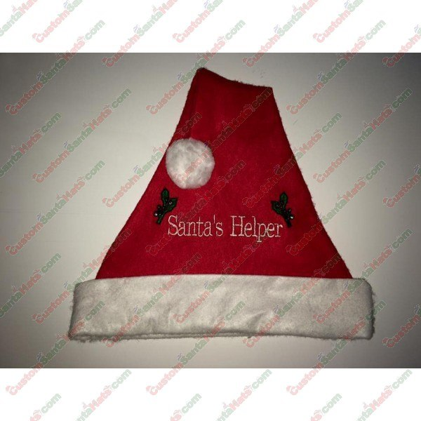 Santa's Helper Santa Hat