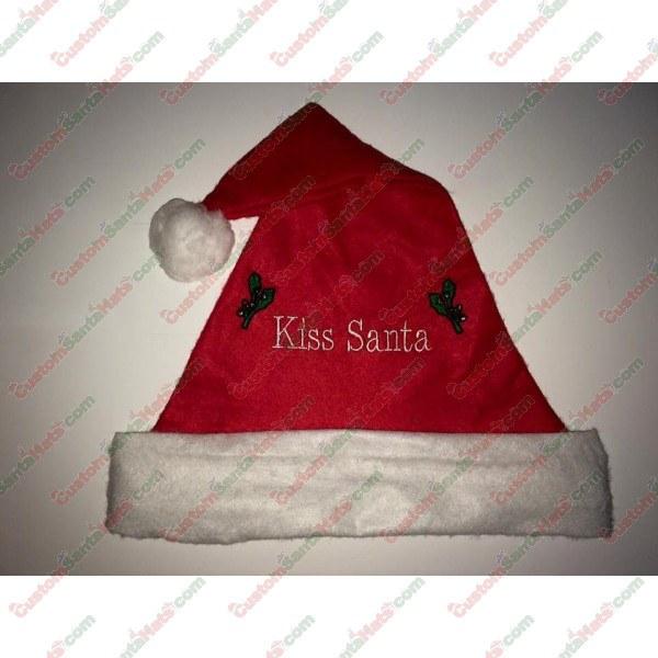 Kiss Santa Santa Hat