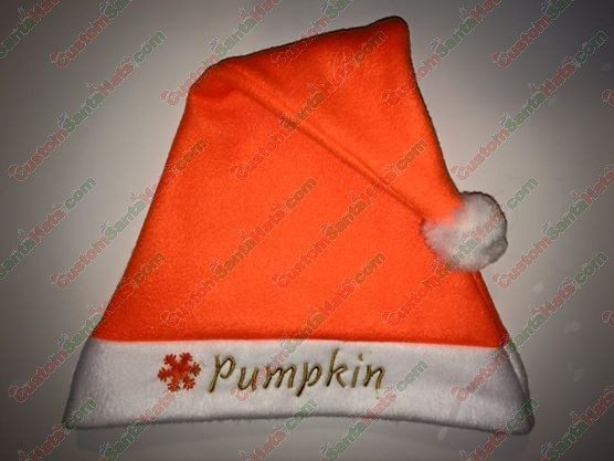 Orange Neon Santa Hat - All Santa Hats - Custom Santa Hats -  5 Custom  Santa Hats 77b3f75631d2