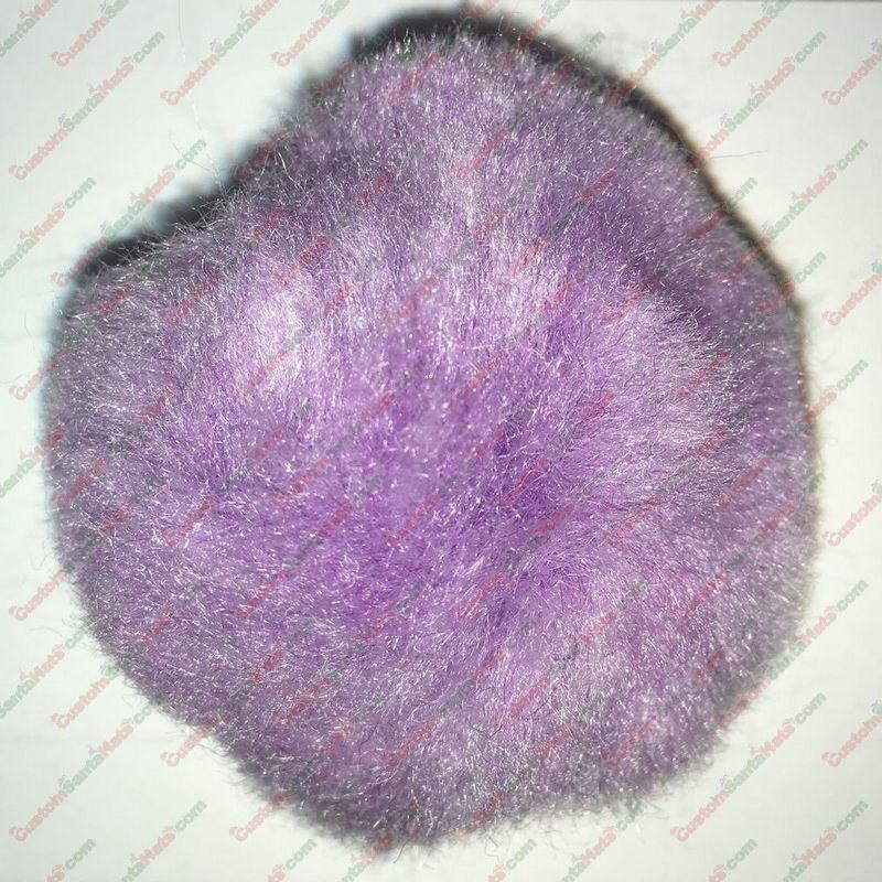 """2"""" Light Purple Pom Pom"""