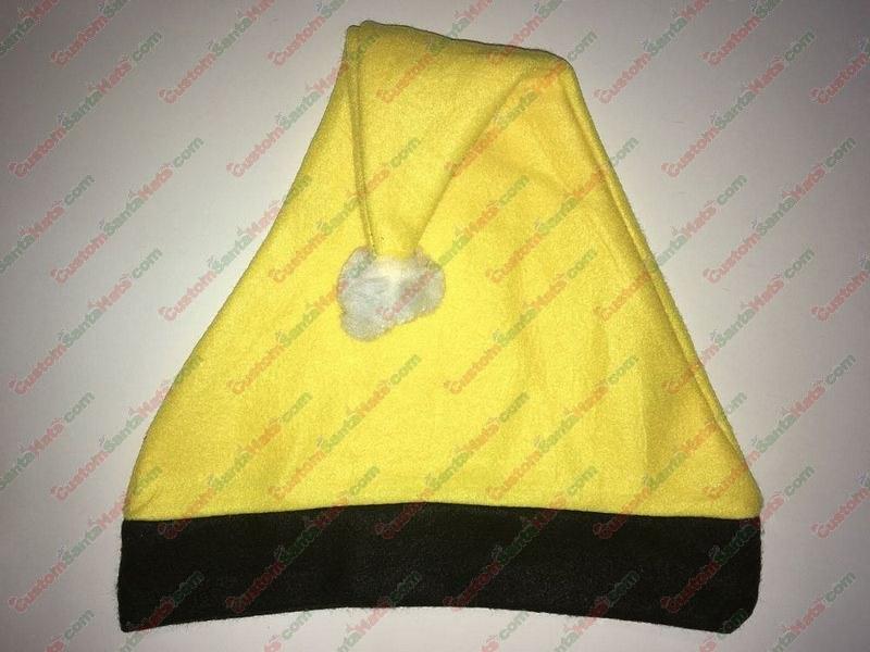 Yellow and Black Santa Hat SSF