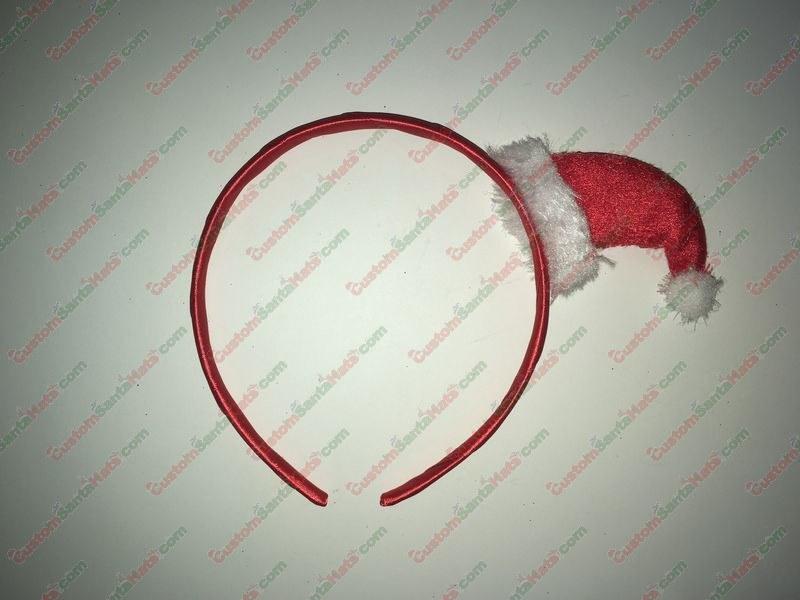 Mini Santa Hat Headband