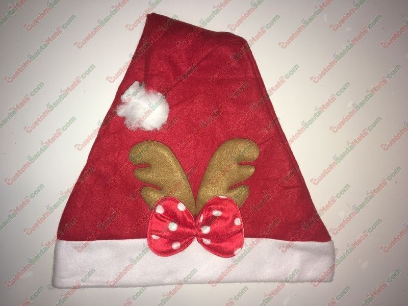 Red Bow Antlers