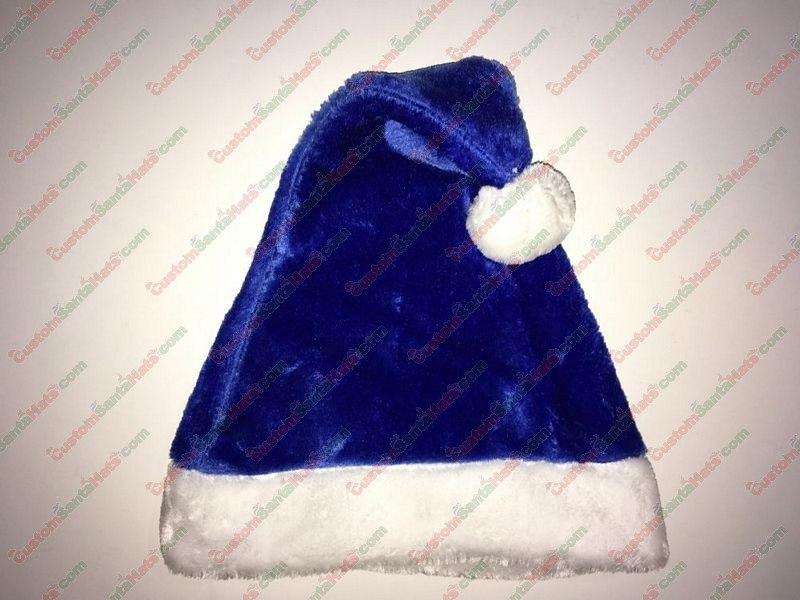 Blue Santa Hat Plush