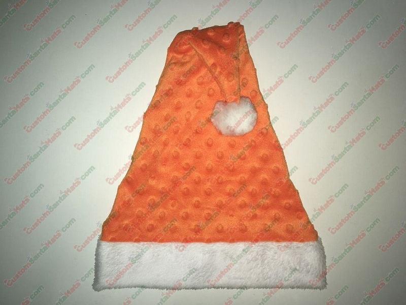 Orange Dot Santa Hat