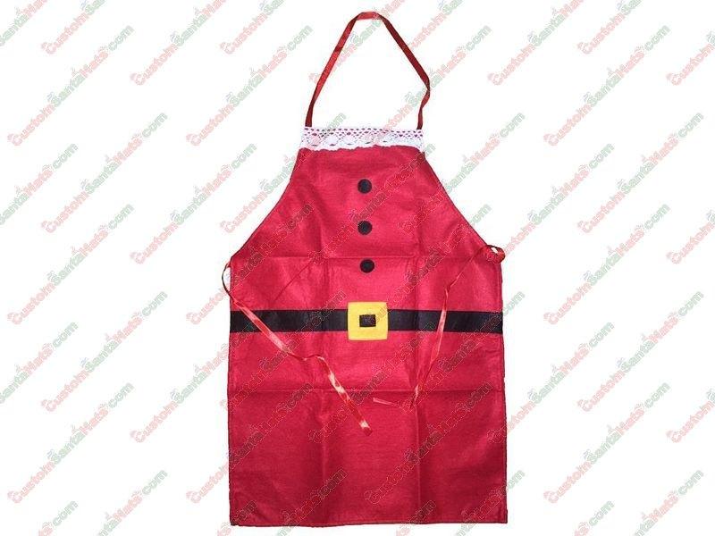 Santa Cooking Apron