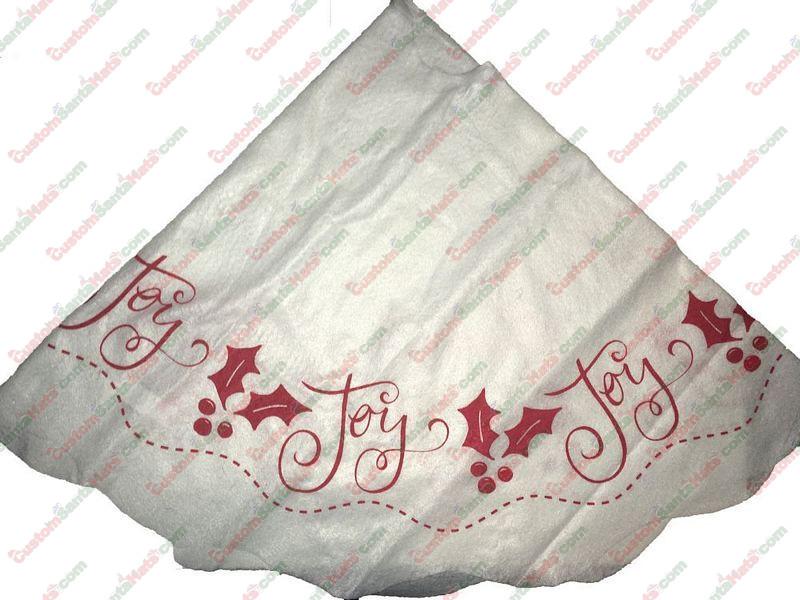 White Felt Tree Skirt