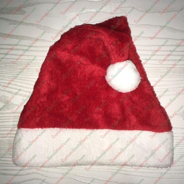 Red Plush Santa Hat