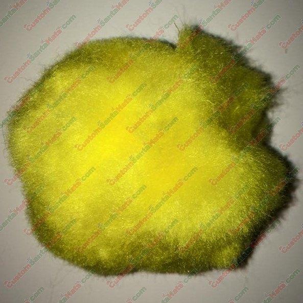 """3"""" Large Yellow Pom Pom"""