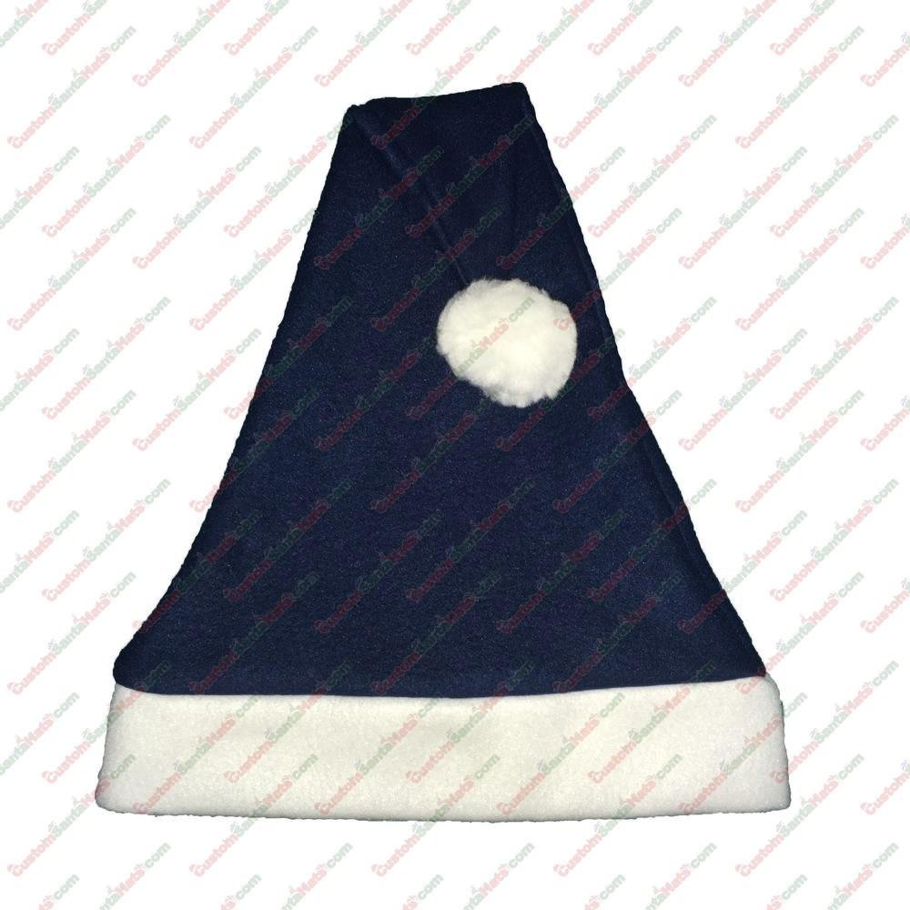 03faafaa2f775 Navy Santa Hat - All Santa Hats - Custom Santa Hats -  5 Custom Santa Hats