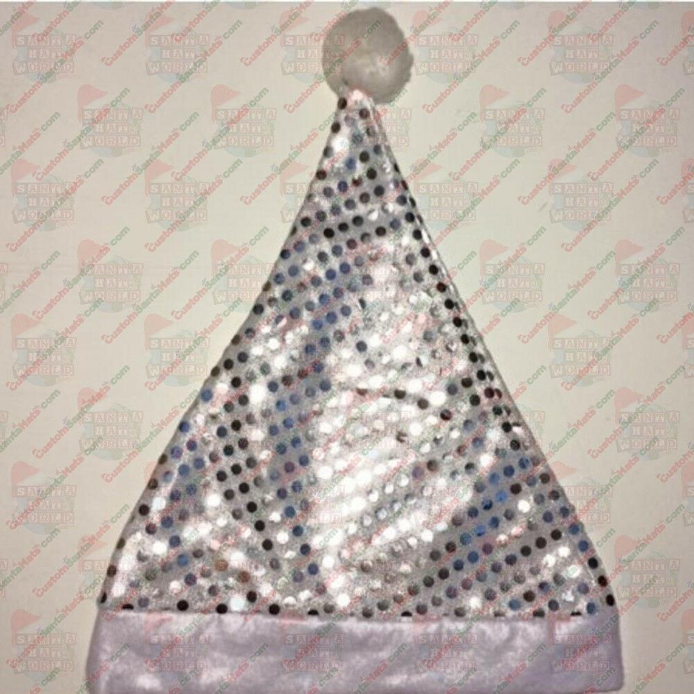 silver felt sequin
