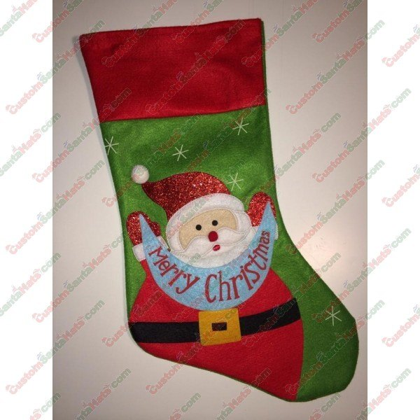 Felt Stocking Santa