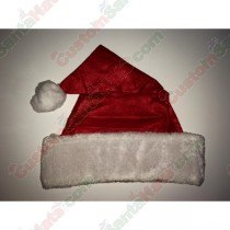 Felt Santa Hat Large Plush Brim