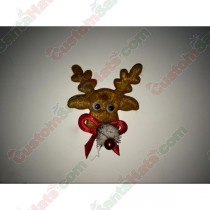 Reindeer with bell patch