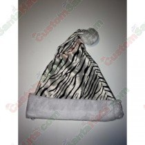 White Tiger Santa Hat