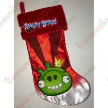 Angry Birds Stocking Red