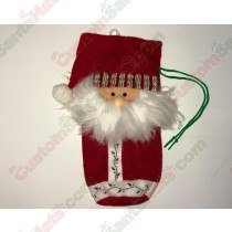 Santa Bottle Holder 2