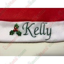 Holly Name Charm