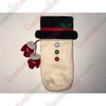 SnowMan Bottle Holder 3