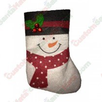Mini Snowman Stocking