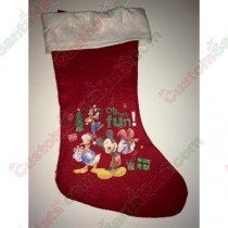 Disney Mickey Donald and Goofy Stocking
