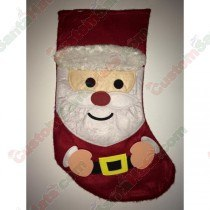 Felt Red Santa Stocking