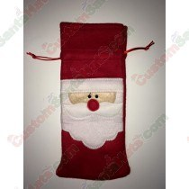 Santa Bottle Holder 3
