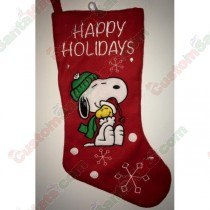 Snoopy Red Stocking