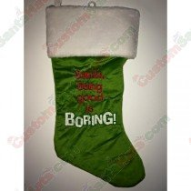 Green Being Good Is Boring Stocking