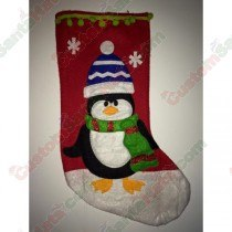 Felt Penguin Stocking