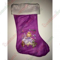 Princess Purple Stocking