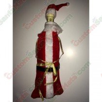 Santa Outfit Bottle Cover Loose