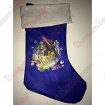 Star Wars Blue Stocking