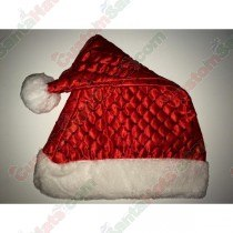 Red Diamond Sequin Santa Hat