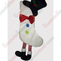 Snowman With Feet Stocking