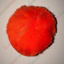 "2"" Orange Pom Pom"