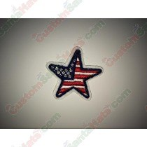 Star USA Flag Patch