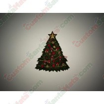 Dark Green Tree Decoration