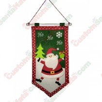 HoHoHo Santa Hanging Flag Sign