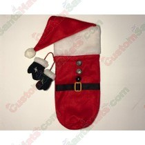 Santa Bottle Holder 4