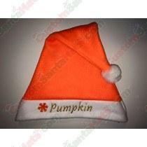 Orange Neon Santa Hat